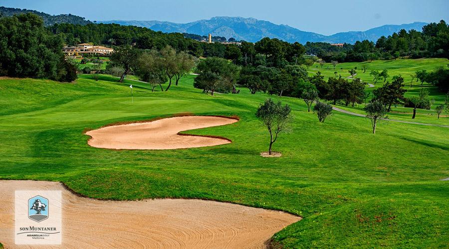Golf Son Muntaner, Hole 16