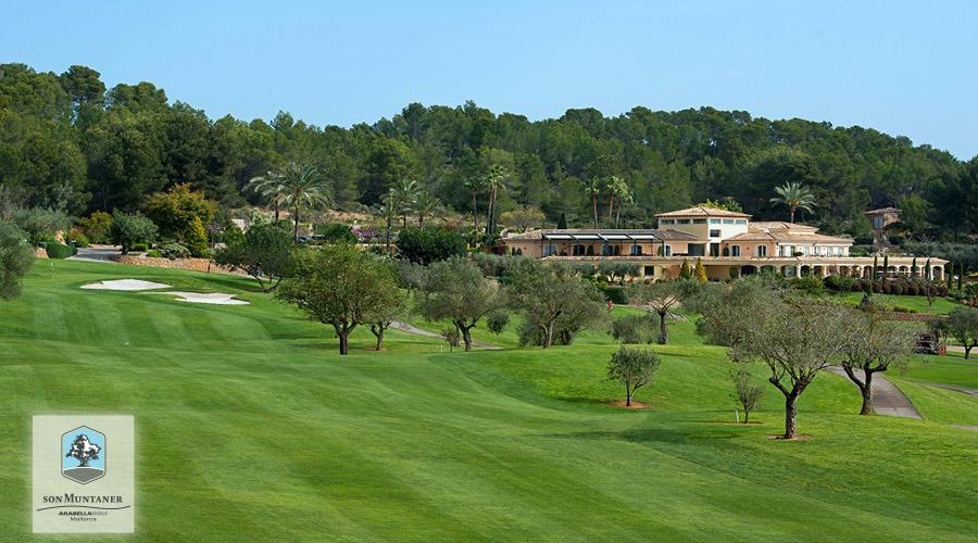 Golf Son Muntaner, Hole 18