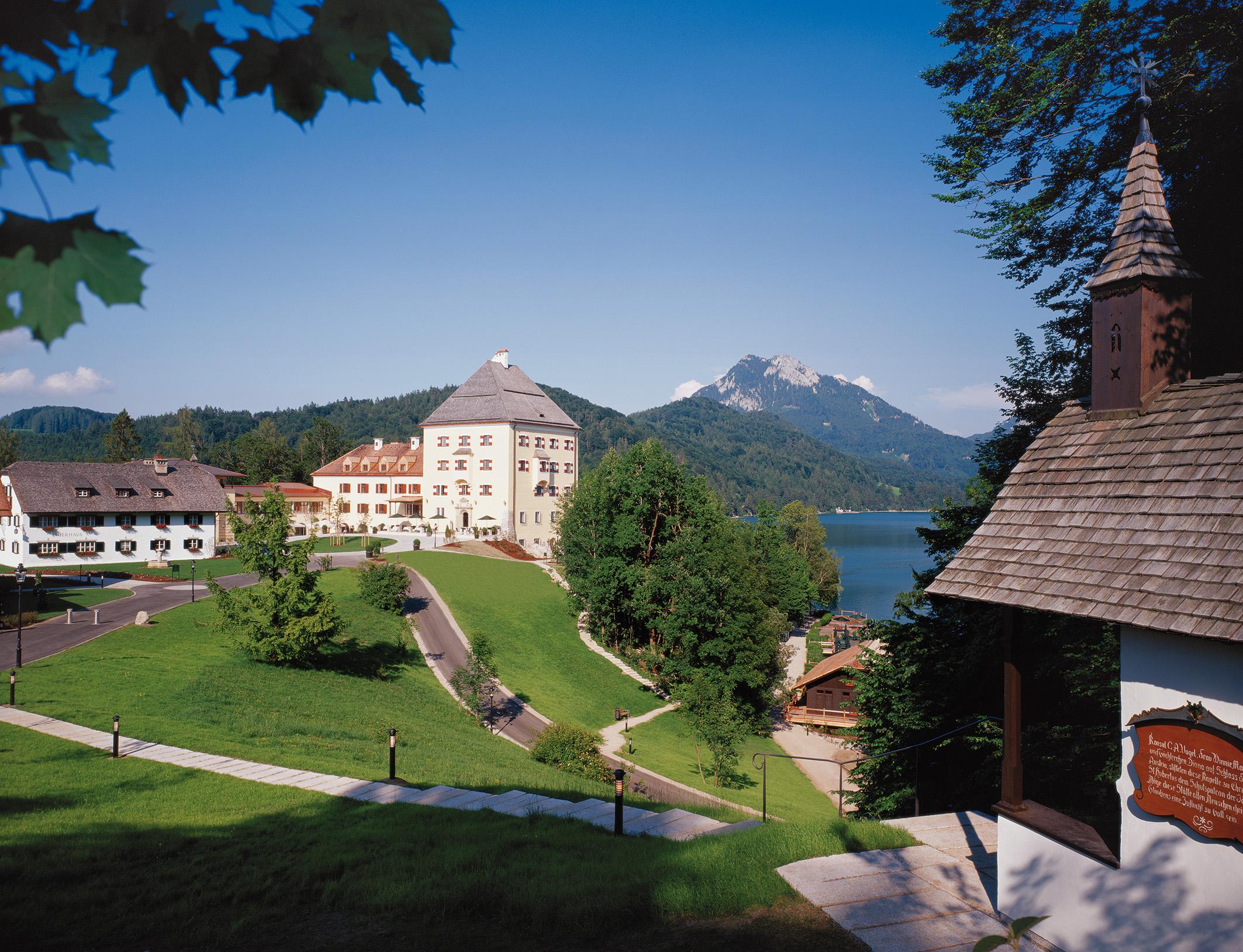 Schloss Fuschl Außenansicht4