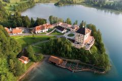 Schloss Fuschl Außenansicht