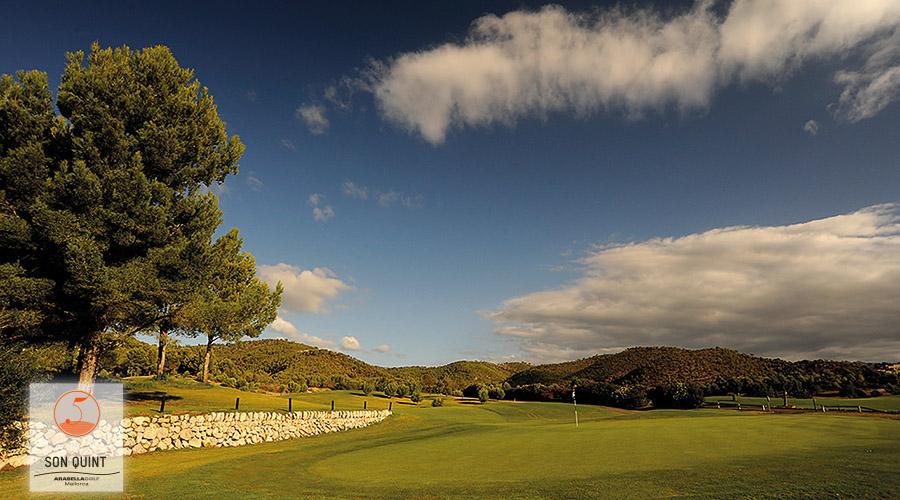 Son Quint, Golf, Mallorca, Palma, Loch 9