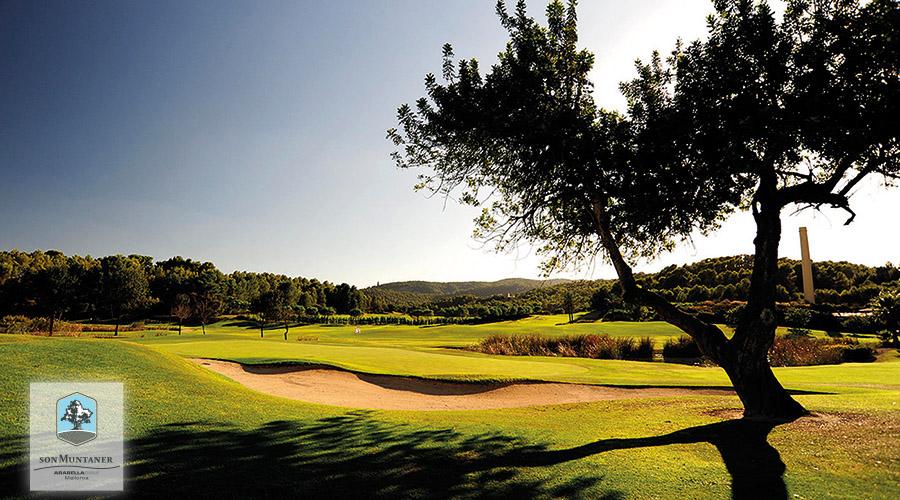 Golfplatz Son Muntaner Loch 3