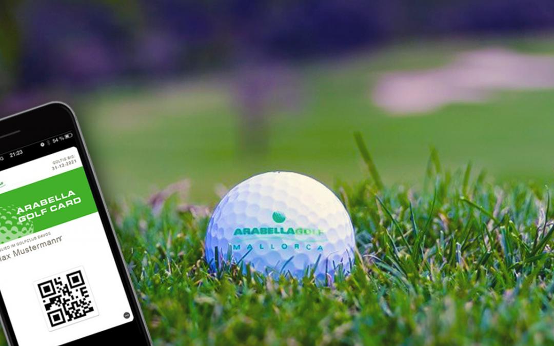 Arabella Golf und Golf Fee Card launchen erste digitale Vorteilskarte