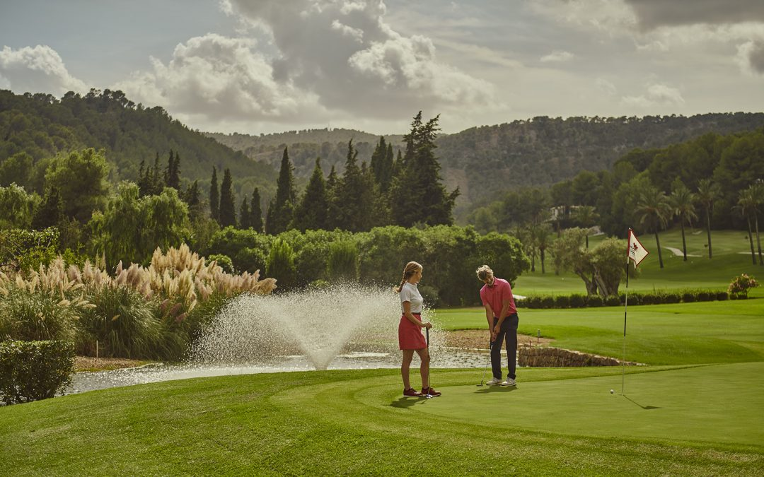 Starting signal for the first Sheraton Mallorca Golf Tournament on 26th June 2021